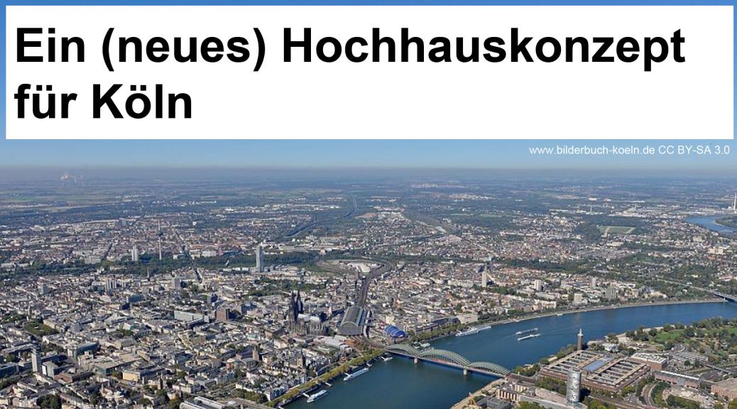 Titelbild Vortrag Hochhauskonzept für Köln