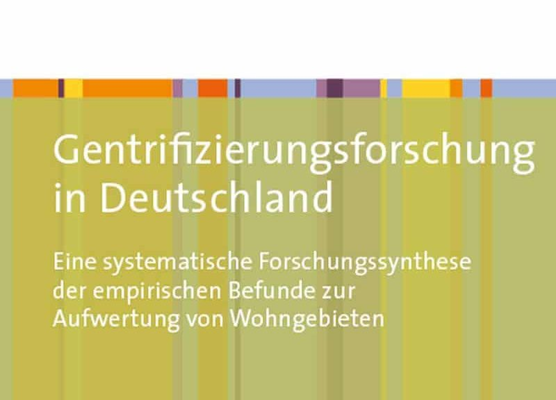 Üblacker Gentrifizierung Cover