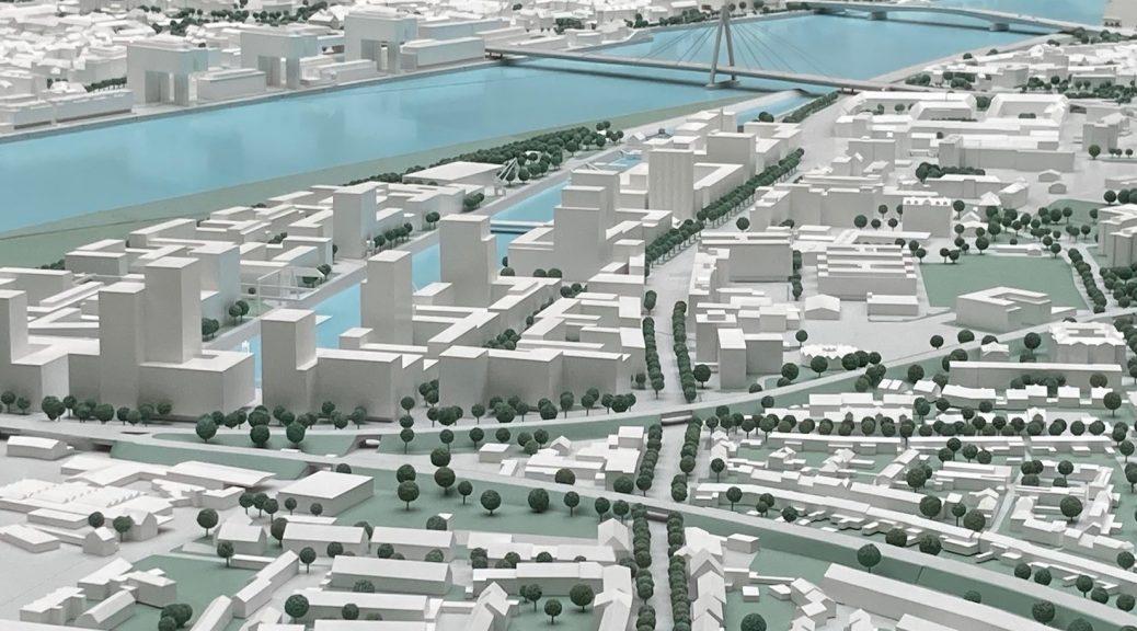 Stadtmodell Deutzer Hafen okt 2021